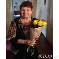 Желтые розы (поштучно) - Фото 1