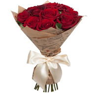 Bouquet of red roses - flowers and bouquets on roza.ck.ua