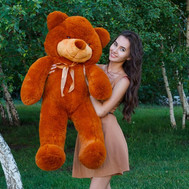 Soft toy Teddy bear 1,2 m - flowers and bouquets on roza.ck.ua