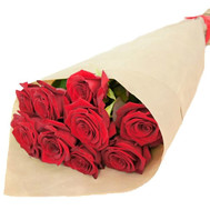 """Bouquet of red roses in paper"" in the online flower shop roza.ck.ua"