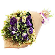 """Bouquet of lisianthus"" in the online flower shop roza.ck.ua"