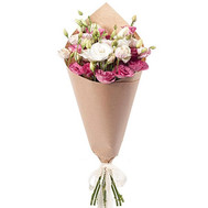Eustoma in the bouquet - flowers and bouquets on roza.ck.ua