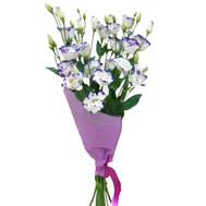 """A small bouquet of natural flowers"" in the online flower shop roza.ck.ua"
