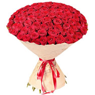 """Buy 101 roses of Cherkassy"" in the online flower shop roza.ck.ua"