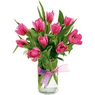 """""""11 розовых тюльпанов"""" в интернет-магазине цветов roza.ck.ua"""
