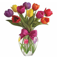 Buy a small bouquet of tulips - flowers and bouquets on roza.ck.ua