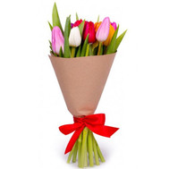Bouquet of 11 Tulips - flowers and bouquets on roza.ck.ua