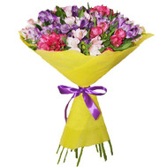 Bouquet of alstroemerias - flowers and bouquets on roza.ck.ua