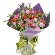 """Beautiful bouquet of freesias"" in the online flower shop roza.ck.ua"
