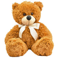 Cute Teddy Bear - flowers and bouquets on roza.ck.ua