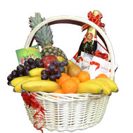 """Large fruit basket"" in the online flower shop roza.ck.ua"