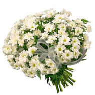 Bouquet of white chrysanthemums - flowers and bouquets on roza.ck.ua