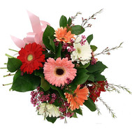 Bouquet gerberas - flowers and bouquets on roza.ck.ua