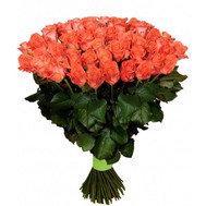 """Bouquet of 101 orange roses"" in the online flower shop roza.ck.ua"