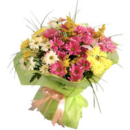 Bouquet of chrysanthemums - flowers and bouquets on roza.ck.ua