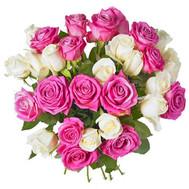 Нежный букет из роз - цветы и букеты на roza.ck.ua