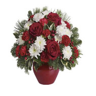 """New Year Bouquet"" in the online flower shop roza.ck.ua"
