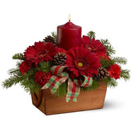 """New Years composition of Cherkassy"" in the online flower shop roza.ck.ua"