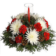"""New Year''s composition'"" in the online flower shop roza.ck.ua"