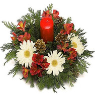"""New Years composition"" in the online flower shop roza.ck.ua"