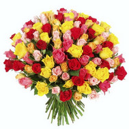 """Large bouquet of roses"" in the online flower shop roza.ck.ua"