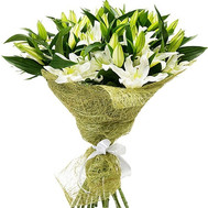 """21 white lily"" in the online flower shop roza.ck.ua"
