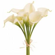 """""""Белые каллы в маленьком букете"""" в интернет-магазине цветов roza.ck.ua"""