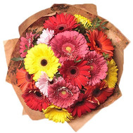 """Bouquet of gerberas in kraft"" in the online flower shop roza.ck.ua"