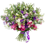 Bouquet of 101 eustoma - flowers and bouquets on roza.ck.ua