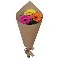 """Mini bouquet of gerberas"" in the online flower shop roza.ck.ua"