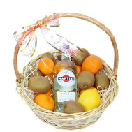 """Martini Fruit Basket"" in the online flower shop roza.ck.ua"