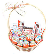 A basket of sweets as a gift - flowers and bouquets on roza.ck.ua