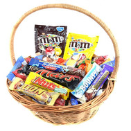 """A basket of sweets as a gift"" in the online flower shop roza.ck.ua"