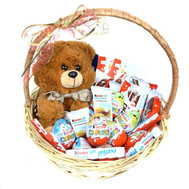 """Basket with Sweets Kinder"" in the online flower shop roza.ck.ua"