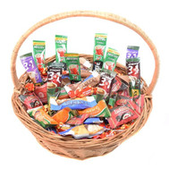 Gift basket of sweets and coffee - flowers and bouquets on roza.ck.ua