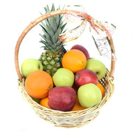 Fruit Gift Basket - flowers and bouquets on roza.ck.ua