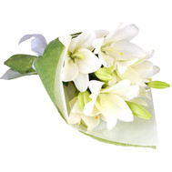 """3 lilies in a bouquet"" in the online flower shop roza.ck.ua"