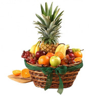 Large fruit basket - flowers and bouquets on roza.ck.ua
