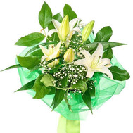 Bouquet of lilies - flowers and bouquets on roza.ck.ua