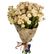 Bouquet of rose spray - flowers and bouquets on roza.ck.ua