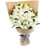 """Bouquet of lilies"" in the online flower shop roza.ck.ua"