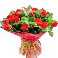 """Bouquet for the New Year"" in the online flower shop roza.ck.ua"