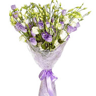 Exotic bouquet of natural flowers - flowers and bouquets on roza.ck.ua