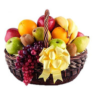 Fruit basket for good mood - flowers and bouquets on roza.ck.ua