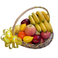 """Fruit basket with lemon"" in the online flower shop roza.ck.ua"