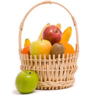 """Basket with fruits"" in the online flower shop roza.ck.ua"