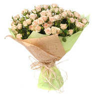 A beautiful bouquet of bush roses - flowers and bouquets on roza.ck.ua
