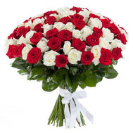 """Buy 101 roses"" in the online flower shop roza.ck.ua"
