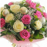 New Year Bouquet - flowers and bouquets on roza.ck.ua