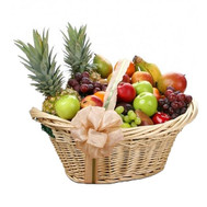 Huge fruit basket - flowers and bouquets on roza.ck.ua